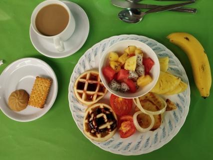 Breakfast @ Green View Village Resort