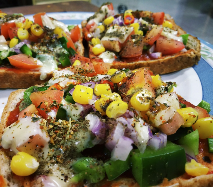 Pizza Toast- Simplecooking.