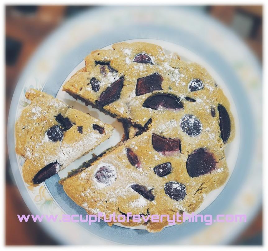 Plum Cake Recipe – Vegan, Gluten-Free &Healthy